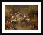 The Fat Kitchen by Jan Havicksz. Steen