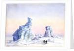 An Iceberg off Cape Evans, 1st-11th September, 1911 by Edward Adrian Wilson