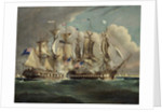 The Chesapeake and Shannon off Boston, June 1, 1813 by Robert Dodd