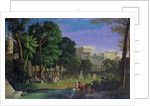 The Philosopher's Garden, Athens, 1834 by Antal Strohmayer