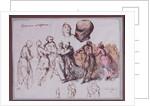 Study for 'Les Polonaises de Chopin', 1850 by Antar Teofil Kwiatowski