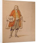 Costume design for an 1847 production of 'Don Juan' by Moliere at the Comedie Francaise by Achille Deveria