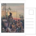 Inhabitants of the Marquesas Islands, c.1841-48 by Maximilien Radiguet