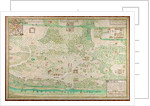 Map of Fort Rosalie des Natchez, Louisiana by French School
