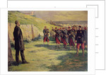 Firing squad about to shoot Eugene Varlin, c.1918 by Maximilien Luce