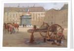 The fallen column, Place Vendôme, Paris, 29 May 1871 by Isidore Pils