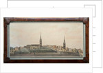 A panoramic view of the town of Coventry by Walker