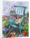 Gardener's Chair by Claire Spencer