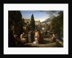 Homer Singing His Iliad at the Gate of Athens, 1811 by Guillaume Lethiere