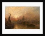 The Pool of the Thames, over London's Silent Highway, 1890 by Claude T. Stanfield Moore