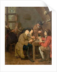 Interior, Card Playing by Peter Jacob Horemans