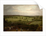Nottingham Meadows from the Rock Cliff, where Lenton Road turns into Park Valley by Richard Bonington