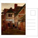 An Old Posting Yard, Surrey, 1885 by Arthur Hawksley