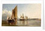 Boats Entering the Medway by George Chambers