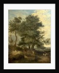 Trees by a Brook, c.1818 by John Crome