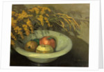 Fruit in a Jade Bowl by George Sheringham