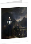 6th Lord Byron and his Servant Robert Rushton by George Sanders