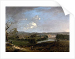 West View of Newstead Abbey, Nottinghamshire, 1726 by Peter Tillemans