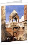 The Castelbarco Tomb, Verona, 1827 by Richard Parkes Bonington