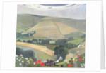 Thunderbarrow Hill, near Bramber by Edward Reginald Frampton