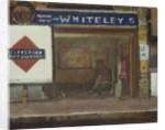 Queens Road Station, Bayswater, c.1916 by Walter Richard Sickert