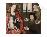 Virgin and Child with Saint Stephen and a Donor, c.1480 by Dirck the Younger Bouts