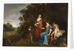 Rueben Presenting Mandrakes to Leah, 1640-50 by Peter Lely