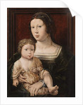 Virgin and Child 1521 by Jan (after) Gossaert