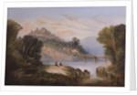 Dunluce Castle, Antrim, c.1860 by John Faulkne