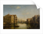 Grand Canal, Venice, 19th century by Alfred Polentine