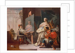 Alexander and Campaspe in the Studio of Apelles by Giovanni Battista Tiepolo