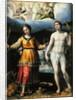 St.Sebastian and St.Cecilia by Lavinia Fontana