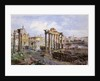 The Forum, Rome, 1878 by Vincenzo Marchi