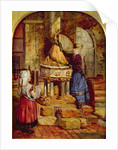 Decorating the Old Font, 1871 by James Lobley