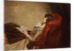 Sketch of the Artist's Wife Asleep in a Chair, 1867 by William Powell Frith