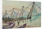 608 Fishing nets, Fort Cochin by Wilson Clive