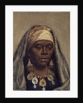Head of a North African Woman by Nazzareno Cipriani