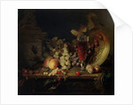 Still Life with Fruit, Glass of Wine, 1863 by Blaise-Alexandre Desgoffe