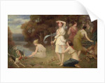 Diana and her Hunting Maidens by Fernand Le Quesne