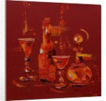 Still Life in Red, 2005 by Penny Warden