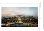 The imperial castle Schlosshof, garden side, 1759-1760 by Bernardo Bellotto