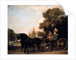 Gentleman driving Lady in Phaeton, 1787 by George Stubbs