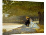 The honeymoon, 1862-1863 by Telemaco Signorini