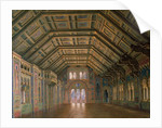 Design for the Great Hall of the Meistersinger of Nuremburg, the Royal Castle of Neuschvanstein, 1878 by Christian Jank