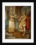King Sigurd meets the wise hermit Grypin by Wilhelm Hauschild