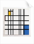 Composition with Blue, Red and Yellow, 1935-42 by Piet Mondrian