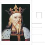 King Edward III by English School