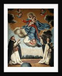 Our Lady of the Rosary with St. Dominic and St. Catherine of Siena by Spanish School