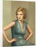 Woman of Mayfair by Duncan Hannah