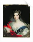 Queen Victoria, 1843 by William Fowler